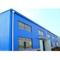 China Gable Frame Industrial Warehouse Building Design, Durable Steel Structure Factory on sale