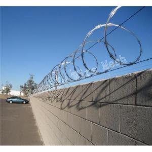 Buy cheap Razor wire︱Razor Barbed Tape Wire︱Concertina wire︱Barbed wire︱Tape wire︱China barbed tape︱Razar barb product