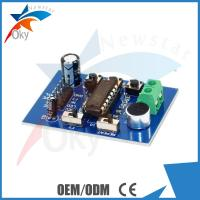 Buy cheap module for Arduino ISD1820 Recording Module Voice Module , Telediphone Module Board With Microphones product