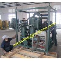 China Transformer Oil Regeneration System, Insulation Oil Reclamation Plant, Switchgear oil purification factory on sale