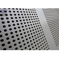 Buy cheap 316 Stainless Steel Perforated Metal Sheet 2mm Screen 25mm for Ventilation product