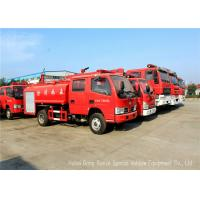 Buy cheap Water Tanker Fire Fighting Truck For Fire Service With Water Pump And Fire Pump product