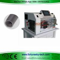 Buy cheap Even Cut Auto Armoured Bellows Pipe Cutter Hard PVC Tube Cutting Machine Conduit from wholesalers