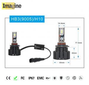 Buy cheap LED replacement headlight bulb, Black Smart 9005 Led Headlight Kit , H10 Led from wholesalers