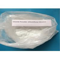 Buy cheap 99% Purity Clomifene Citrate / Raw Hormone Powders White Crystalline CAS 50-41-9 product