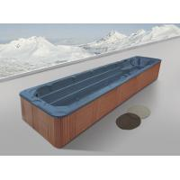 Buy cheap Monalisa M-3326 long rectangle swim SPA swimming pool sexy outdoor swim hot tub for 6 adults villa SPA pool product