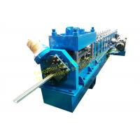 Quality Steel Rolling Shutter Door Guide rail Roll Forming Machine 3 Phase With 3kw Motor Power for sale