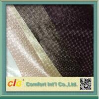 Classic Faux Leather Upholstery Fabric , Woven Textile PVC Synthetic Leather