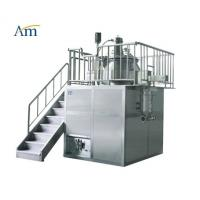 Buy cheap High Shear Mixer with Mill Function 10-400 kg/batch Pharmaceutical Granulation Equipment Platform Type 25-1000L product