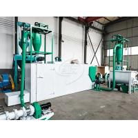 Buy cheap Electric 2000kg/H Floating Fish Feed Production Line For Feed Factory product