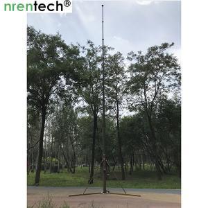 Buy cheap 12m crank manual telescopic mast, crank antenna mast, telescpic mast, manual mast, aluminum telescopic mast product