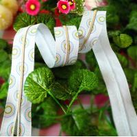 Buy cheap 3# Goldplating Long Chain Nylon Long Zippers For Clothes / Shoes Bag Trousers product