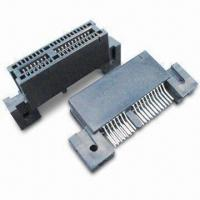 Buy cheap Edge Card Connector with Brass/Phosphor Bronze Contact and Tin/Lead Plating Terminal product