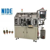 Automatic armature three-phase motor rotor coil winding machine