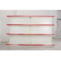 Buy cheap Single - side Store / Supermarket Display Shelving with 4 Layers Perforated Back Panel product