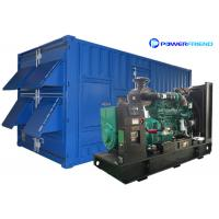 Quality 1000kva Cummins Generator Set Low Noise 800kw Generators Genset for sale