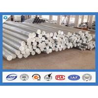 Buy cheap 3mm Thickness Octagonal Shape Galvanized Electric Steel Poles product