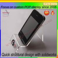 China Acrylic cell phone accessory display mobile phone display stand on sale