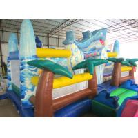 Buy cheap Giant Inflatable dolphin New Ocean undersea world Fun city Inflatable ocean playground park product