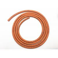 Buy cheap SBR Material Orange Rubber Lpg Gas Hose 5 / 16 Inch for Domestic Cooking product