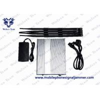 Buy cheap Mobile Phone Wifi Signal Jammer HS Code 8543709200 Total Output 10 Watt product