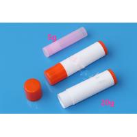 Buy cheap 22*94mm DIY tool 20g large size solid glue tube bottle .5oz empty lip balm tube container 16.4g PP white black clear tub product