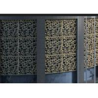 Buy cheap Colorful Beautiful Stainless Steel Decorative Panels High Mechanical Properties product