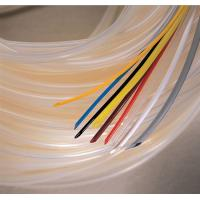 Buy cheap Flexible White Silicone Rubber Tubing for Automobile Cable Wiring Insulation product