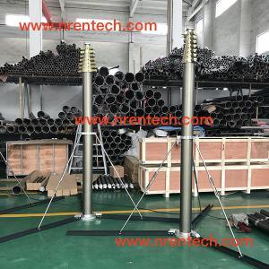 Buy cheap 12m lockable pneumatic telescopic mast 250kg payloads product