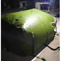 Buy cheap Durable 3m3 Fuel Storage Tanks Folded TPU Coated Inflatable Fuel Tank product