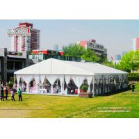 Buy cheap 1000 People 25x50m White wedding tents for sale in Nigeria from Wholesalers