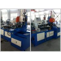 Buy cheap Handle Bar Steel Tube Cutting Machine , Full Automatic Metal Tube Cutting Machine product
