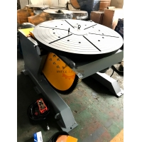 China Wireless Control 3000kg Rotary Welding Positioner Turntable on sale