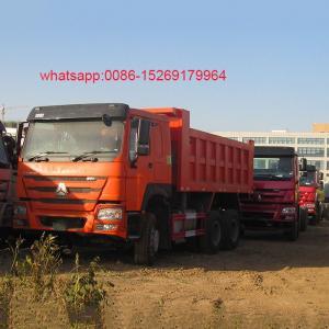 Buy cheap China SINOTRUK 336hp Middle Lifting HOWO 30 ton dump truck product