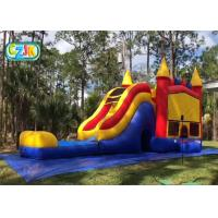 Buy cheap Shopping Mall Blow Up Water Bounce House Customized Design SGS Certification product