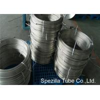 Buy cheap Instrumentation Stainless Steel Coil Tubing , ASTM A213 TP304 Polished Stainless Steel Pipe from Wholesalers