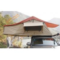 China Outdoor  Waterproof Aluminum Poles 2-4 People Travelling Camping Trailer Tent  Car Top Tent on sale