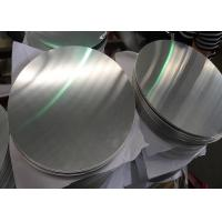 Buy cheap Kitchen Dish 5005 DC Aluminium Circle Plate Durable Corrosive Resistant from Wholesalers