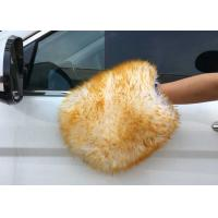 Buy cheap Sheepskin Car Wash Mitt Lambs Wool Car Wash Mitt Genuine Merino Sheepskin product