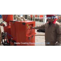 Buy cheap Red Color Vacuum Sandblasting Equipment , Industrial Blast Cabinet Energy Saving product