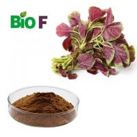 Buy cheap High Fiber Vegetable Extract Powder / Natural Pigment Powder Solvent Extraction product
