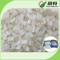 Buy cheap EVA Bookbinding Hot Melt Glue White Transparent For Double Film Coated Paper product