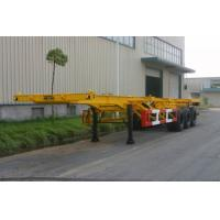 Buy cheap 30ft Gooseneck Container Trailer Chassis product