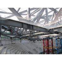 China GYM Center Building Steel Frame I Section Square/ Round Pipe Environment Friendly on sale