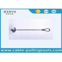 China Manufacture Earth Screw Anchor Earth Anchor Drill 1710mm with 300mm Diameter Disk on sale
