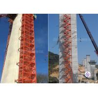 Quality Safe Construction Stair Tower Any Color For Highways Railways Bridges for sale