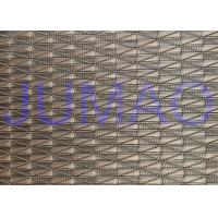 Buy cheap Glass Laminated Architectural Argyle Red Copper Wire Mesh Fabric 2000mm Width product