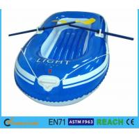 China Rugged Super Tough Large Inflatable Boat , Lake Inflatable Boat With Motor Mount on sale