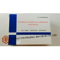 Buy cheap Vitamine B Complexe Comprimes Medicine Tablet For Adults Water Soluble Function product