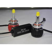 Buy cheap Motorcycle 9005 LED Headlight Bulb With CREE Chips Copper Shell Heat Faster product
